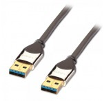 CROMO USB 3.0 Cable, Type A Male to A Male, 5m