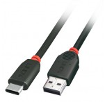 USB 2.0 Cable, Type C to A, 2m