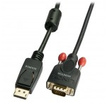 5m DisplayPort To VGA Adapter Cable