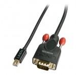 2m Mini DisplayPort To VGA Passive Cable, Black