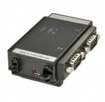 USB to 2 Port RS-232 Serial Converter, Industrial