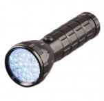 Super-Bright LED Torch, Black