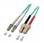 Fibre Optic Cable, 50/125μm OM3, LC-SC, 15m