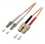 Fibre Optic Cable, 62.5/125μm, LC-SC, 15m