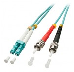 5m Fibre Optic Cable, LC-ST, 50/125μm OM3