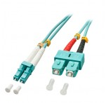 15m Fibre Optic Cable, LC-SC, 50/125μm OM3