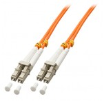 2m Fibre Optic Cable, LC-LC, 50/125μm OM2