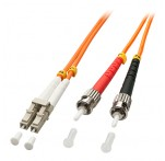 1m Fibre Optic Cable, LC-ST, 50/125μm OM2