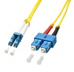3m Fibre Optic Cable, LC-SC, 9/125μm OS2