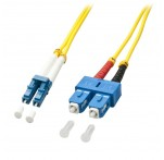 1m Fibre Optic Cable, LC-SC, 9/125μm OS2