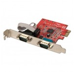 2 Port RS-232 Serial PCIe Card