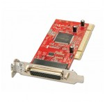 2 Port RS-232 Serial PCI Card, Low Profile