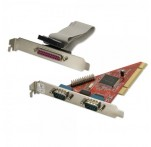 2 Port RS-232 & 1 Port Parallel Combo PCIe Card