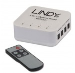 4 Way TosLink Digital Optical Audio Switch