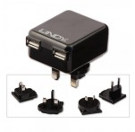 2 Port USB Mains Travel Charger
