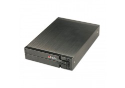 "USB 2.0 Drive Enclosure for Dual 2.5"" SATA Drives"