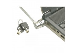 Notebook Security Cable, Barrel Keylock