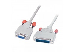 2m Serial Cable DB9 Female to DB25 Male
