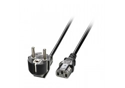 3m Euro Power Cable 3-Pin Plug to IEC C13 Socket