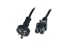 1m Hi-Temp Power Cable, 3-Pin  to IEC C15 Socket