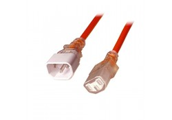 0.5m Medical Power Cable C14 Plug to C13 Socket