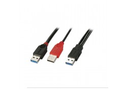 0.5m USB 3.0 Dual Power Cable