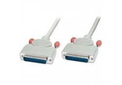 2m Serial Cable DB25 Male to Male