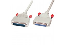 10m Serial Cable DB25 Male to Female
