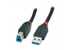 1m USB 3.0 Cable, Type A to B, Black