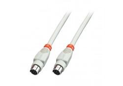 2m Apple Mac Printer Cable, 8-Pin MiniDIN Male to