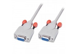 2m Serial Null Modem Cable DB9 Female to Female