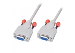 5m Serial Null Modem Cable DB9 Female to Female