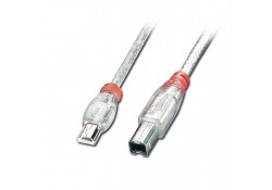 USB OTG Cable, Type Mini-A to B, 1m