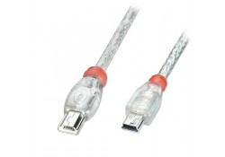 1m USB OTG Cable, Type Mini-A to Mini-B