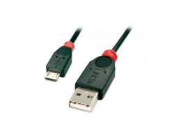 USB 2.0 Cable, Type A to Micro-B, 0.5m