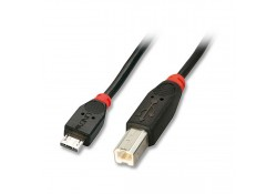 USB 2.0 Cable, Type Micro-A to B, 1m