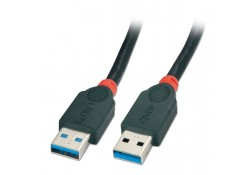 USB 3.0 Cable, Type A Male to A Male, 0.5m