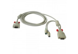 1m PS/2 & VGA KVM Cable for U8/U16 KVM Switch