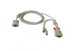 1m PS/2 & VGA KVM Cable for U8/U16 KVM Switch