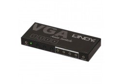 4 Port VGA & Audio Switch