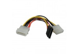 "5.25"" - SATA/5.25"" Power Splitter Cable, 15cm"