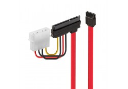 0.5m SATA Combined Data and Power Cable