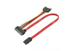 0.5m SATA 7 Pin Data + SATA 15 Pin Power to SATA 2