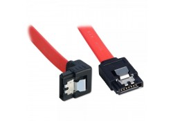 0.5m SATA Cable, Latching, Right-Angled Connector