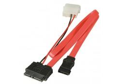 Slimline SATA Data & Power Cable, 0.7m