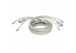 2m PS/2 & VGA Premium KVM Extension Cable