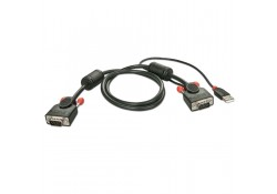 2m USB & VGA KVM Cable for Combo KVM Switch