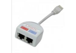 UTP Port Doubler, 2 x Ethernet to 1 Port
