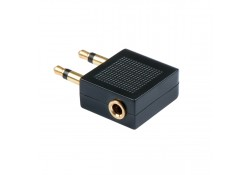 2 x 3.5mm Stereo Jack Male to 3.5mm Female Audio A