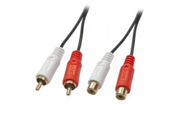 10m Premium 2 x RCA Stereo Audio Extension Cable